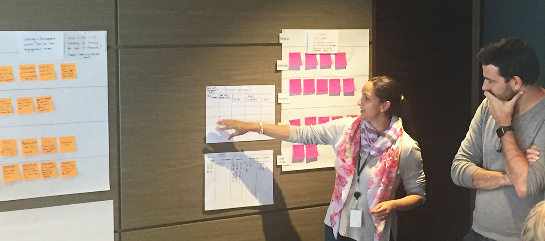 The Agile Eleven running an agile masterclass with People and Culture business partners