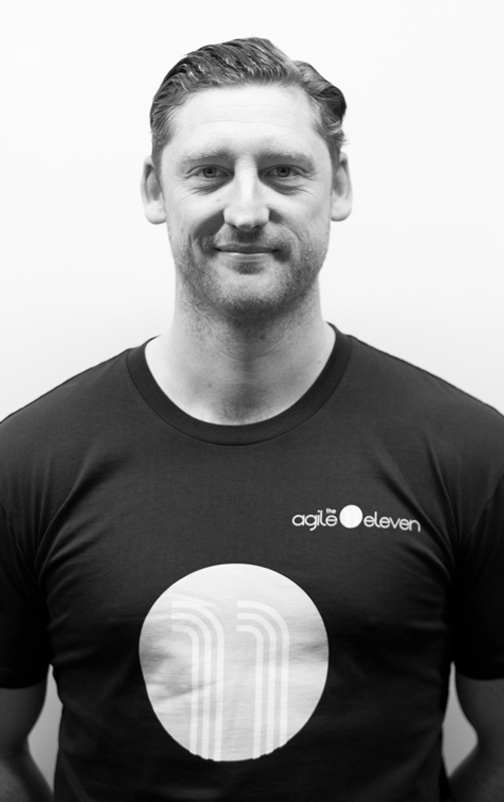 Profile photo of Liam Mitten, Enterprise Agile Coach at The Agile Eleven